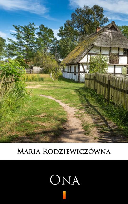 okładka Onaebook | epub, mobi | Maria Rodziewiczówna