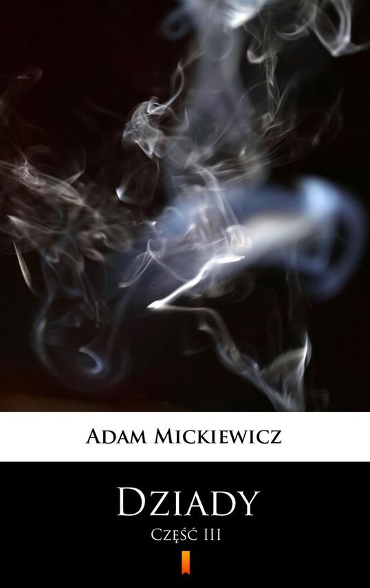okładka Dziadyebook   epub, mobi   Adam Mickiewicz
