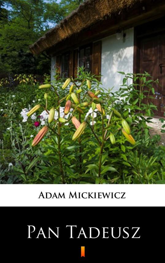 okładka Pan Tadeuszebook | epub, mobi | Adam Mickiewicz