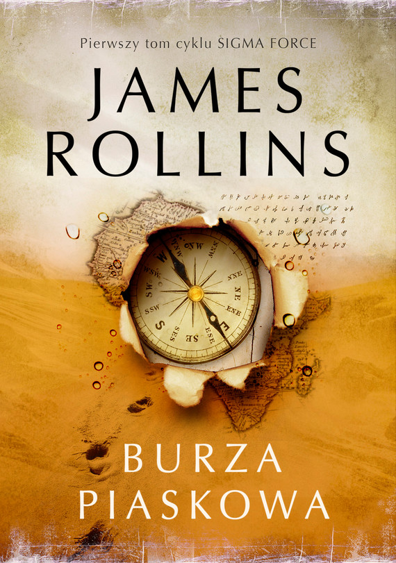 okładka Burza piaskowa, Ebook | James Rollins