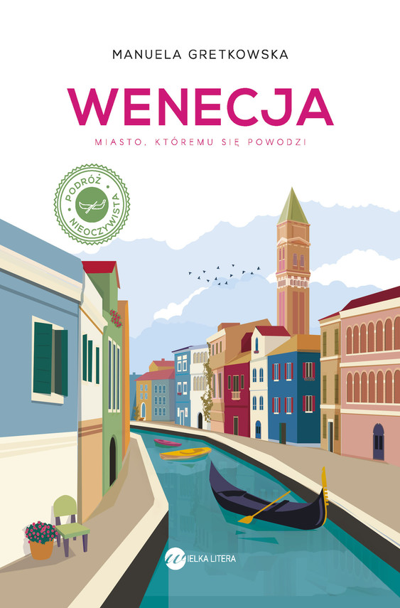 okładka Wenecja, Ebook | Manuela Gretkowska