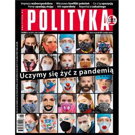 okładka AudioPolityka Nr 16 z 15 kwietnia 2020 rokuaudiobook | MP3 | Polityka