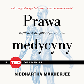 okładka Prawa medycyny. Zapiski z niepewnego terenu, Audiobook   Siddhartha Mukherjee