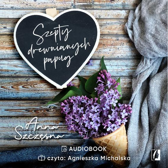 okładka Szepty drewnianych papug, Audiobook | Anna Szczęsna