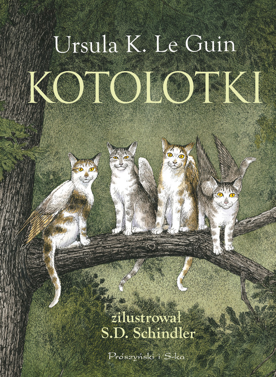 okładka Kotolotki, Ebook | Ursula K. LeGuin