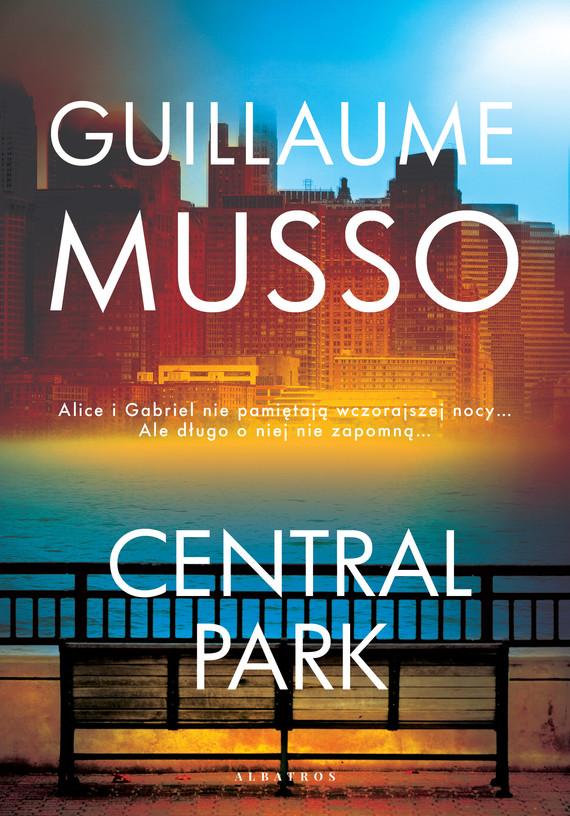 okładka Central parkebook   epub, mobi   Guillaume Musso
