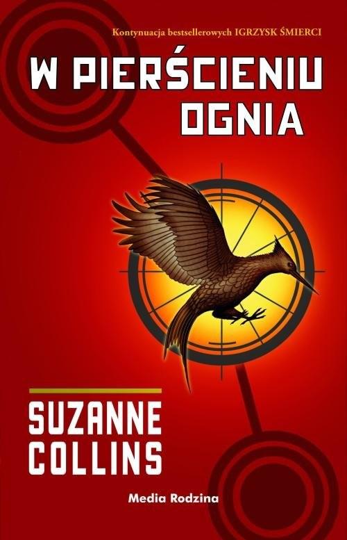 okładka W pierścieniu ognia, Książka | Suzanne Collins