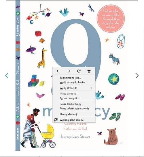 okładka 9 miesięcy. Od zarodka do noworodka!książka |  | Praca Zbiorowa