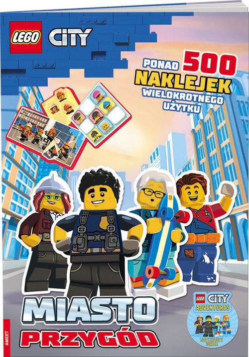 okładka Lego City. Miasto przygód SAC-6012, Książka  