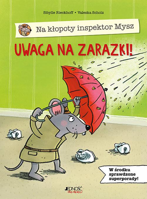 okładka Na kłopoty inspektor Mysz Uwaga na zarazki!, Książka | Rieckhoff Sibylle
