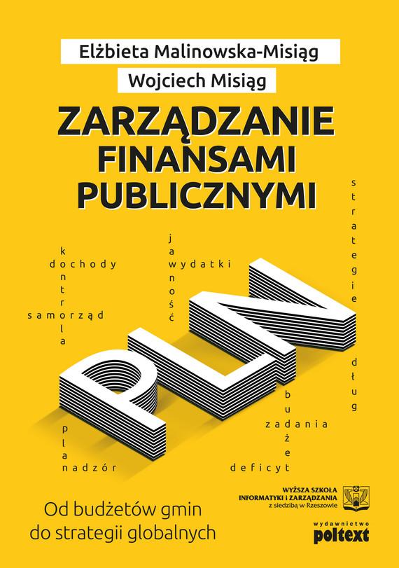 okładka Zarządzanie finansami publicznymiebook   epub, mobi   Wojciech Misiąg, Elżbieta Misiąg