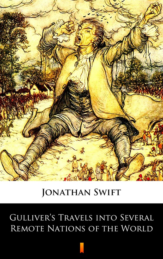 okładka Gulliver's Travels into Several Remote Nations of the Worldebook | epub, mobi | Jonathan Swift