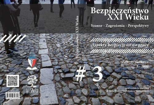 okładka Bezpieczeństwo XXI Wieku Szanse - Zagrożenia - Perspektywy Aspekty bezpieczeństwa pracy, Książka |