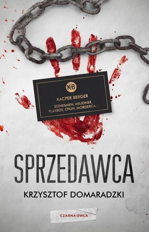 okładka Sprzedawca, Książka | Krzysztof Domaradzki