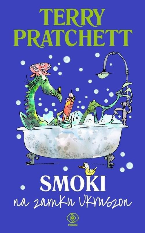 okładka Smoki na zamku Ukruszon, Książka   Terry Pratchett
