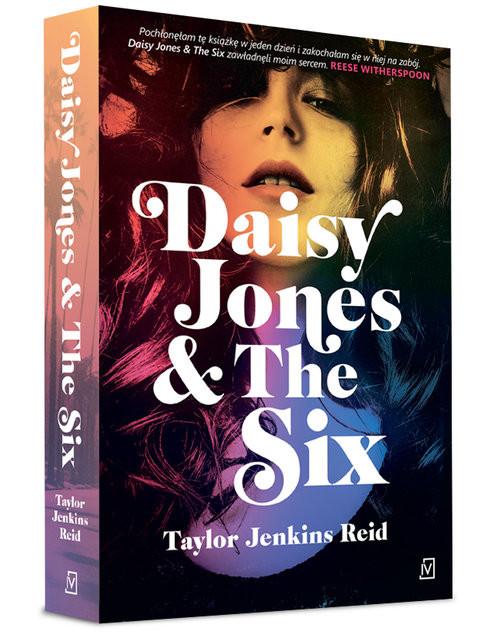 okładka Daisy Jones & The Six, Książka   Jenkins Reid Taylor