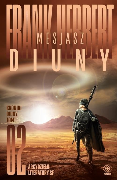 okładka Mesjasz Diuny, Książka   Frank Herbert