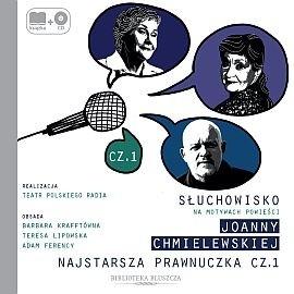 okładka Najstarsza prawnuczka cz. 1audiobook | MP3 | Chmielewska Joanna