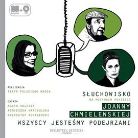 okładka Wszyscy jesteśmy podejrzaniaudiobook | MP3 | Chmielewska Joanna