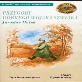 okładka Przygody dobrego wojaka Szwejkaaudiobook | MP3 | Jaroslav  Hašek
