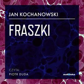 okładka Fraszki, Audiobook   Jan Kochanowski