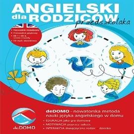okładka Angielski dla rodziców przedszkolaka metodą deDOMO, Audiobook | Agnieszka Szeżyńska
