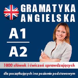 okładka Gramatyka angielska na poziomie A1, A2 dla początkującychaudiobook | MP3 | Dvoracek Tomas