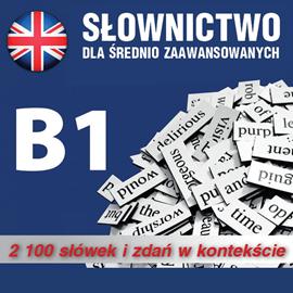 okładka Slownictwo angielskie  poziom B1audiobook | MP3 | Dvoracek Tomas