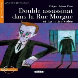 okładka Double assassinat dans la Rue Morgue et La lettre voléeaudiobook | MP3 | Allan Poe Edgar