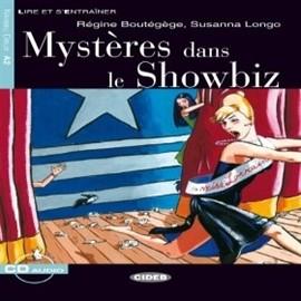 okładka Mystères dans le showbizaudiobook | MP3 | Regine Boutegege