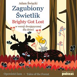 okładka Zagubiony Świetlik. Brightly Got Lost w wersji dwujęzycznej dla dzieciaudiobook | MP3 | Święcki Adam