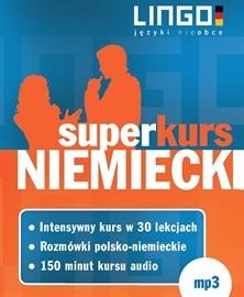okładka Niemiecki. Superkursaudiobook | MP3 | Lingo