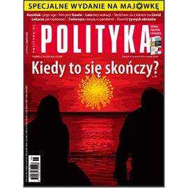 okładka AudioPolityka Nr 18 z 29 kwietnia 2020 rokuaudiobook | MP3 | Polityka