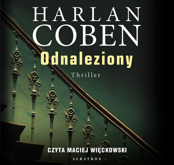 okładka ODNALEZIONY, Audiobook | Harlan Coben