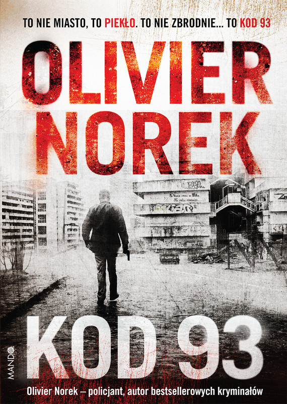okładka Kod 93ebook   epub, mobi   Olivier Norek