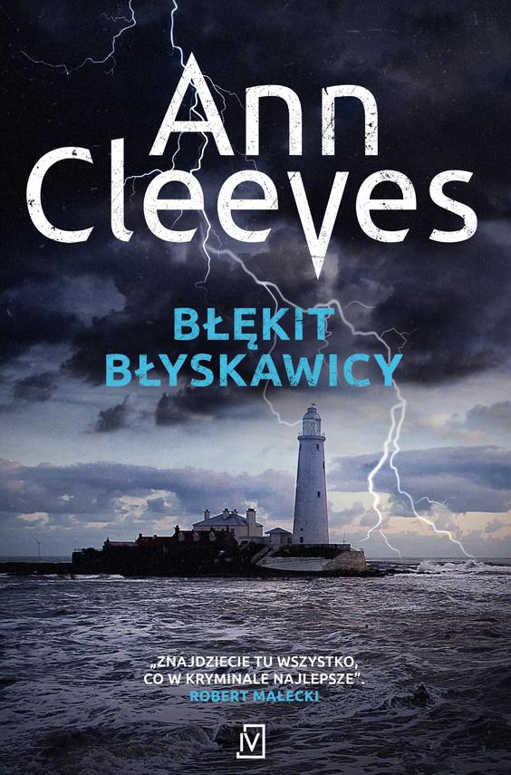 okładka Błękit błyskawicy, Ebook | Ann Cleeves