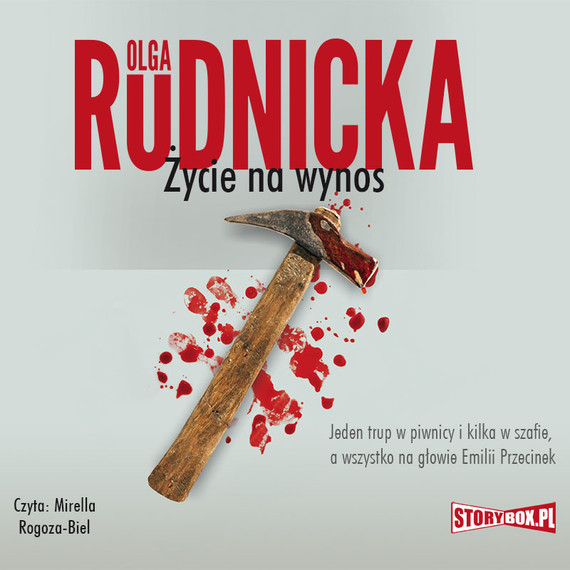 okładka Emilia Przecinek. Tom 2. Życie na wynos, Audiobook | Olga Rudnicka