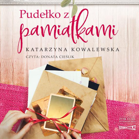 okładka Pudełko z pamiątkami, Audiobook   Katarzyna  Kowalewska