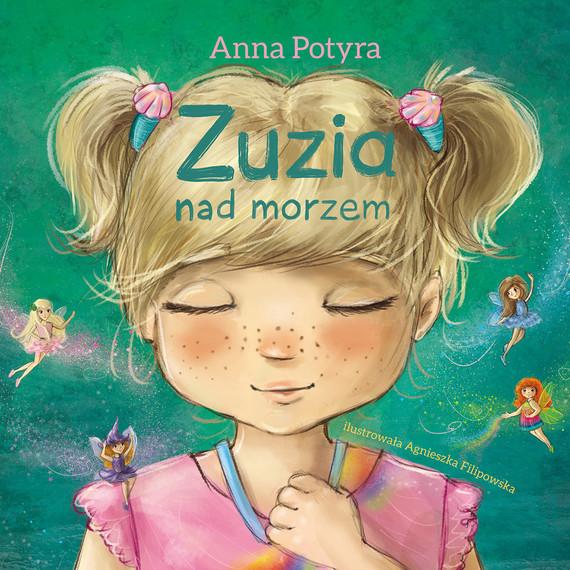 okładka Zuzia nad morzem (audiobook), Audiobook   Anna Potyra