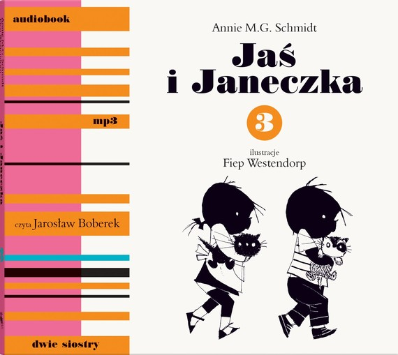okładka Jaś i Janeczka 3 mp3audiobook | MP3 | Annie M.G. Schmidt