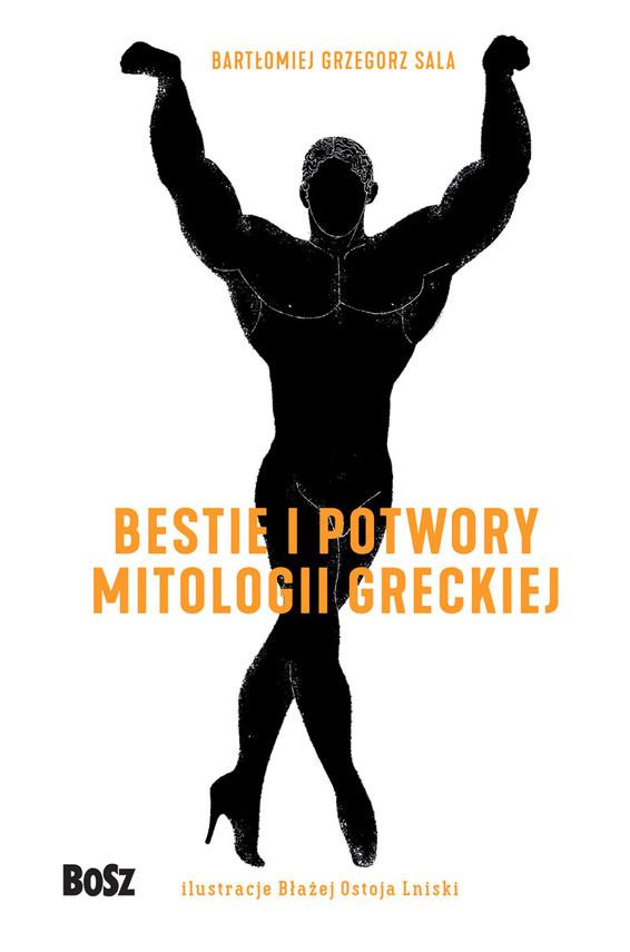 okładka Bestie i potwory mitologii greckiej.Leksykonebook   epub, mobi   Sala Bartomiej