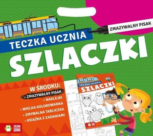 okładka Teczka ucznia z pisakiem Szlaczki, Książka  