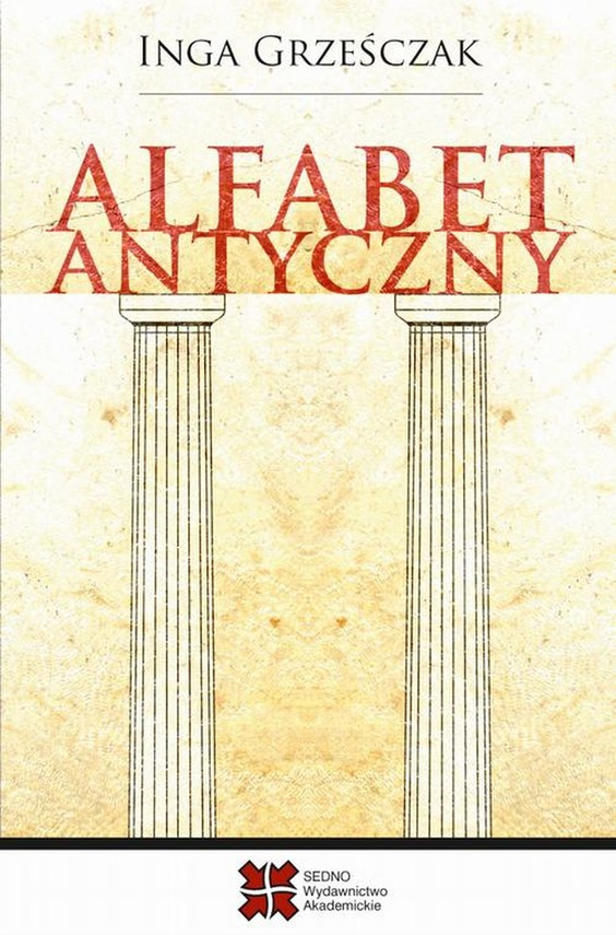 okładka Alfabet antycznyebook   pdf   Inga Grześczak