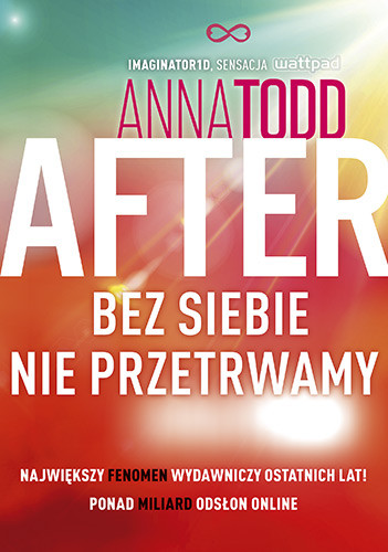 okładka After 4. Bez siebie nie przetrwamy 2020książka |  | Anna Todd