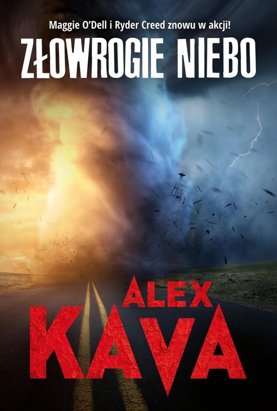 okładka Złowrogie nieboebook   epub, mobi   Alex Kava