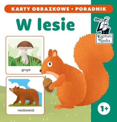 okładka W lesie (karty obrazkowe + poradnik), Książka | Praca Zbiorowa