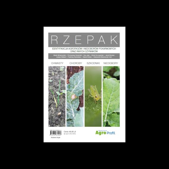 okładka Rzepak. Identyfikacja agrofagów i niedoborów pokarmowych oraz innych czynnikówebook | pdf | praca zbiorowa