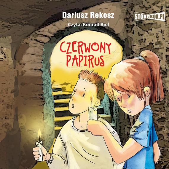 okładka Czerwony papirusaudiobook | MP3 | Dariusz Rekosz
