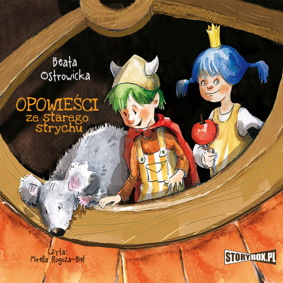 okładka Opowieści ze starego strychuaudiobook | MP3 | Beata Ostrowicka