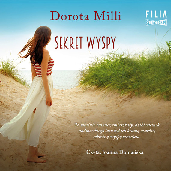 okładka Sekret wyspyaudiobook | MP3 | Dorota Milli